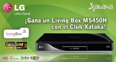 Club Xataka: gana un disco duro multimedia Living Box de LG