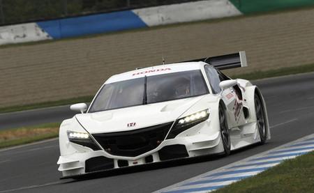 Primeras imágenes del nuevo Honda NSX-GT del Super GT 2013 en movimiento