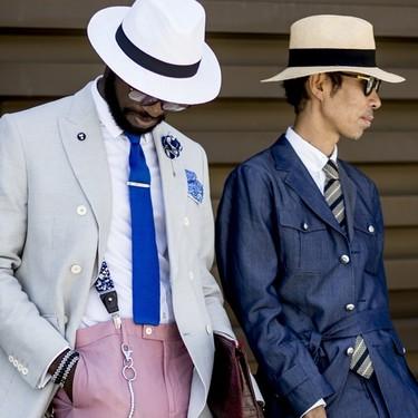 El mejor streetstyle de la semana: trajes con mucho color para una vuelta al trabajo exitosa