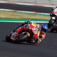 Álex Márquez hizo su primera gran carrera en MotoGP y solo el airbag le impidió ser la mejor Honda en pista