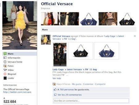 Versace deja sin poder comentar a más de 500.000 personas en su fanpage gracias a unos activistas