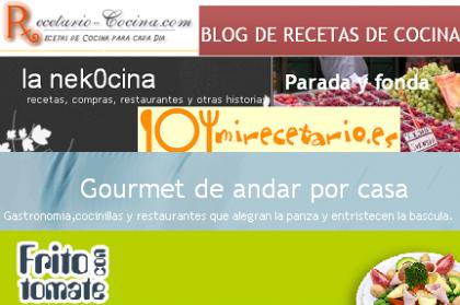 Blogs gastronómicos descubiertos (I)