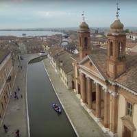 Ferrara y los canales de Comacchio, un Patrimonio de la Humanidad a vista de pájaro