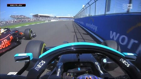 Hamilton Muro Verstappen Gran Bretana F1 2021