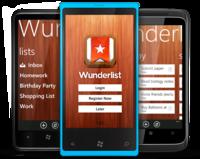Wunderlist, el gestor de tareas multiplataforma, llega a Windows Phone