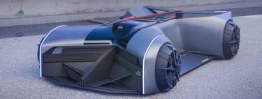 Nissan GT-R X 2050: En el futuro no te subirás al auto, más bien, te pondrás el coche cual playera