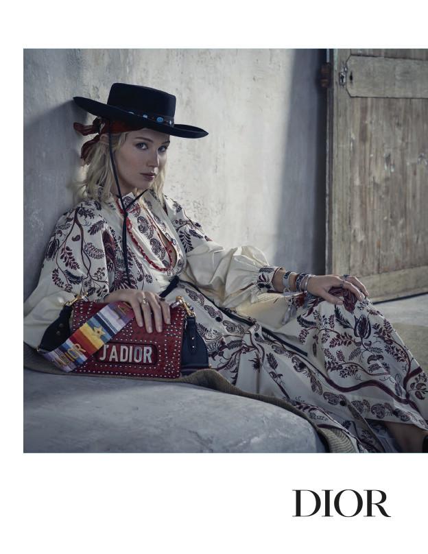 Jennifer Lawrence: una chica del Oeste americano para Dior