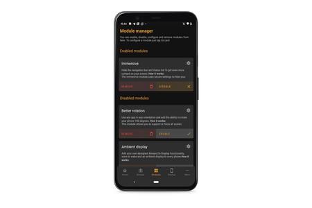 Cómo activar ajustes ocultos en Android con Cometin, una genial aplicación de personalización