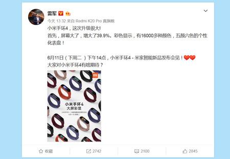 Xiaomi Mi Band 4 3