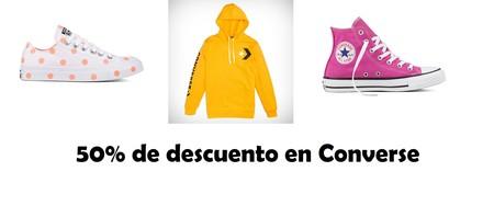 13 ofertas en las rebajas de Converse por menos de 40 euros: camisetas, sudaderas, pantalones y sobre todo, muchas zapatillas