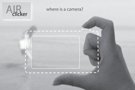 Saca fotos con tus dedos. Galaxia Xataka