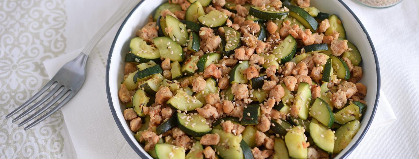 calabacines rellenos dieta disociada 10 dias