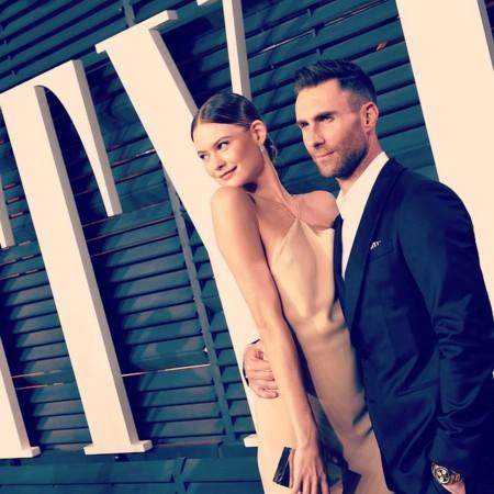 Adam Levine y Behati Prinsloo nos presentan a su nena y Olivia Wilde desvela el sexo de su bebé