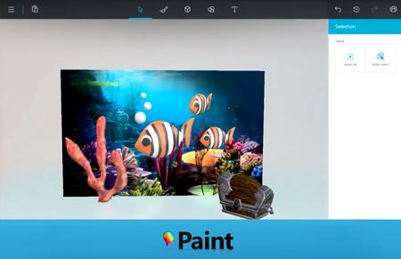 Microsoft va a modernizar al legendario Paint, nos dejarán dibujar en 3D
