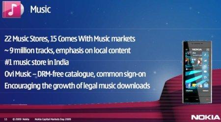 Nokia Music Store es ahora Ovi Música sin DRM