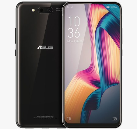 Asus Smartphone Sistema Deslizable Doble