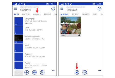 Albumes Windows Phone 1