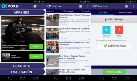 Voxy para Android