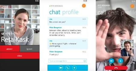 Una versión preliminar de Skype aparece para Windows Phone 8