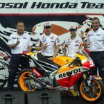 El Repsol Honda Team se presenta en el Circuito Internacional de Sentul