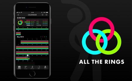 All the Rings para iOS, la app que que no te deja excusas para no completar los anillos del Apple Watch