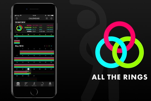 All the Rings para iOS, la app que que no te deja excusas para no completar los anillos del Apple Watch