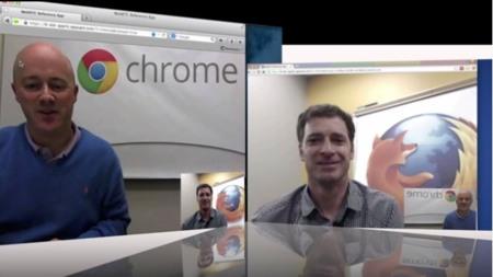 Google y Mozilla hacen la primera llamada oficial entre sus navegadores usando WebRTC