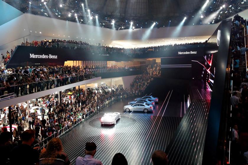 Auf Wiedersehen, Salón de Frankfurt. Los coches se retiran de la segunda cita más importante de Europa