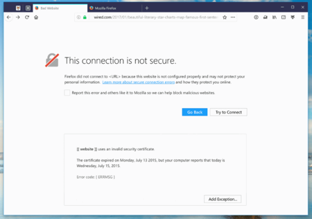 Https Error Firefox 57