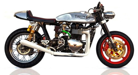 Triumph Thruxton Deus Ex Machina 1