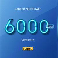 """Realme se suma a las baterías gigantes: lanzará un modelo con 6.000 mAh """"muy pronto"""""""