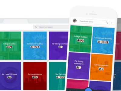 Visto y no visto: Google cerrará su aplicación de mensajería 'Spaces' el 17 de abril