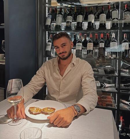 Juanito Iglesias, novio de Estel Grande