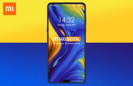 Xiaomi estaría trabajando en un smartphone con notch y doble cámara frontal en la parte inferior de la pantalla