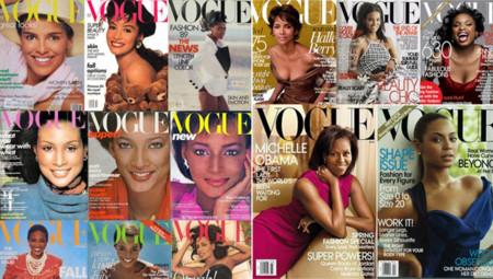 Vogue Portadas Negras