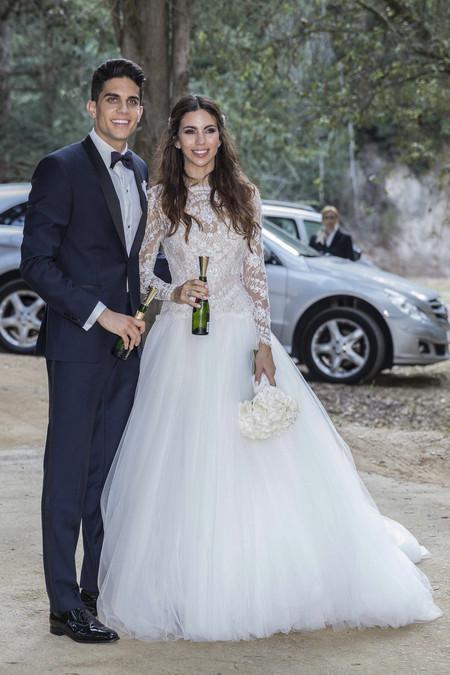 Melissa Jimenez Y Marc Bartra 2