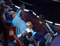Algún momentazo hubo en la gala de los Oscars 2014