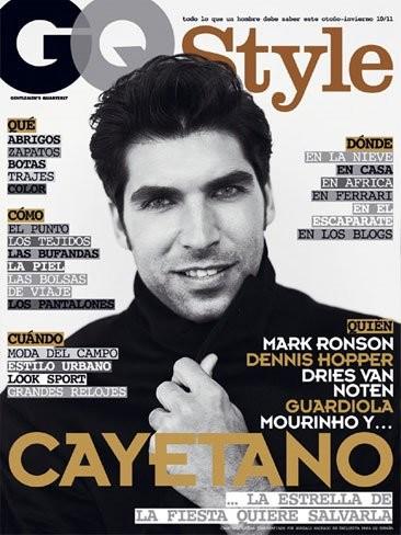 Cayetano Rivera tremendo hombre de portada