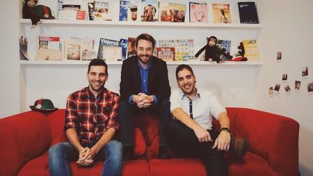 De izquierda a derecha, los cofundadores de Waynabox: Ferran Blanché, Pau Sendra y Daniel Jiménez