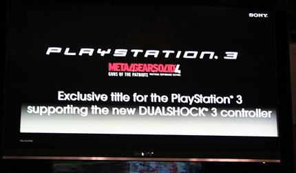 Sony niega que 'Metal Gear Solid 4' vaya a llegar a XBox 360