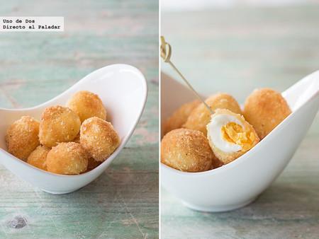 Huevos De Codorniz Con Almendra Receta De Aperitivo Para Navidad