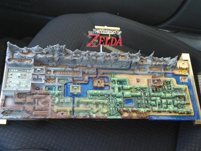 The Legend Of Zelda Mapa 3d 02