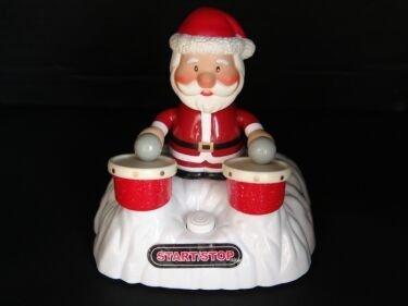 Papá Noel a la batería