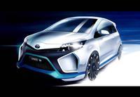 Toyota Hybrid-R Concept: El Yaris de 400 caballos de fuerza