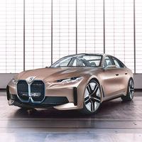 El BMW i4 Concept es un coche eléctrico de 530 CV y 600 km de autonomía con el que BMW irá a por el Tesla Model 3