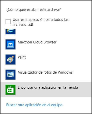 Encontrar una aplicación en la tienda de Windows 8