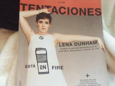 El caso Lena Dunham y Tentaciones: ¿quién controla el uso de Photoshop?
