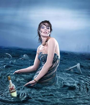 Si llega el fin del mundo quiero que sea al estilo de Milla Jovovich en el Calendario Campari