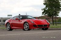 ¿Primera foto espía del Ferrari 599 Spider?