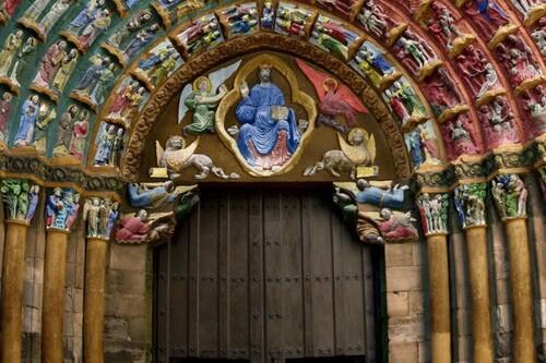La Puerta del Juicio Final, una representación única del infierno en la Catedral de Tudela